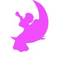 Объемный ангел из пенопласта